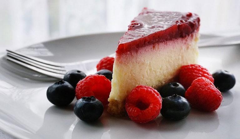 Zdravý cheesecake